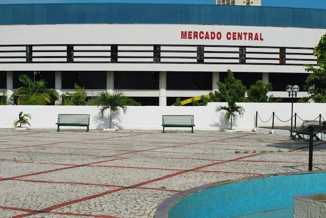 Mercado Municipal de Fortaleza, na Rota das Emoções