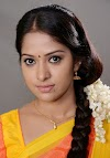 South Indian Model TV Serial Actress Jyothi In Orange Saree