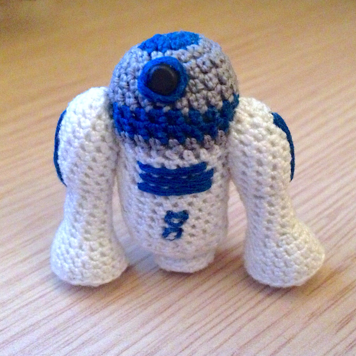 Amigurumi Tutorial Uncinetto : La piccola bottega della Creativit?: Star Wars: R2-D2 ...