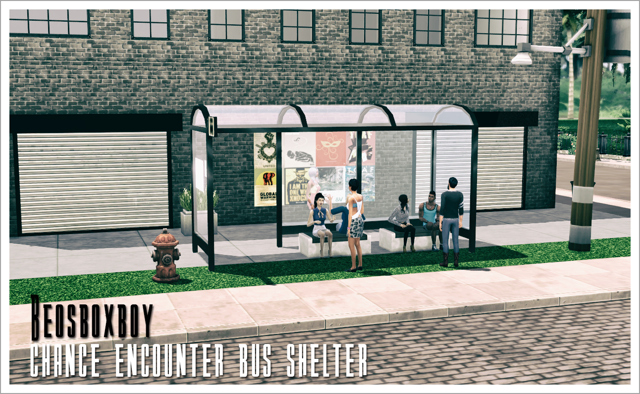 My sims 4 blog ts2 dog days are over bus shelter and for Sims 4 balcony