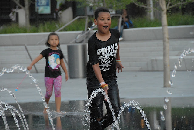 Public Square's splash pad!