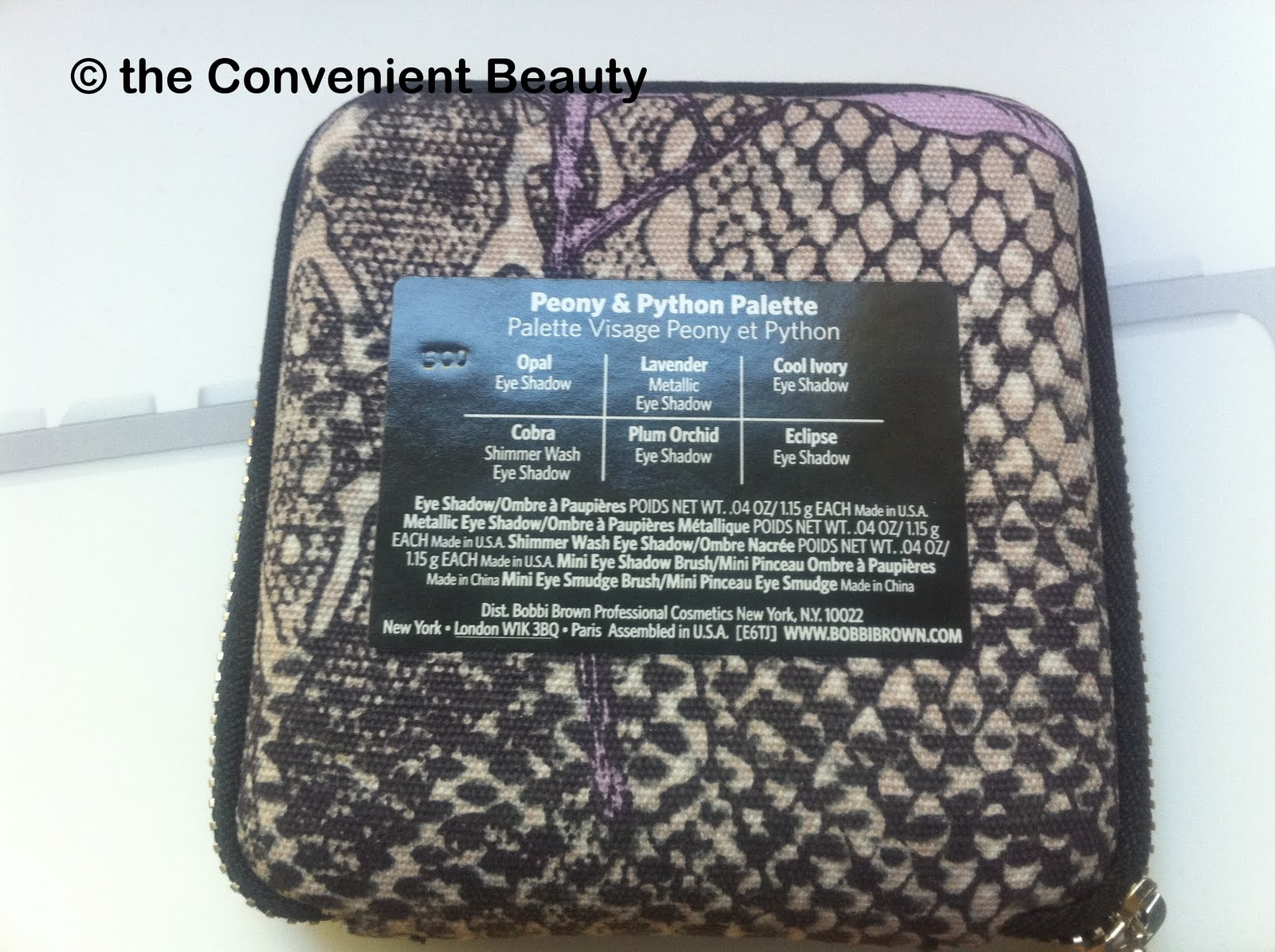 The Convenient Beauty Review Bobbi Brown Peony And