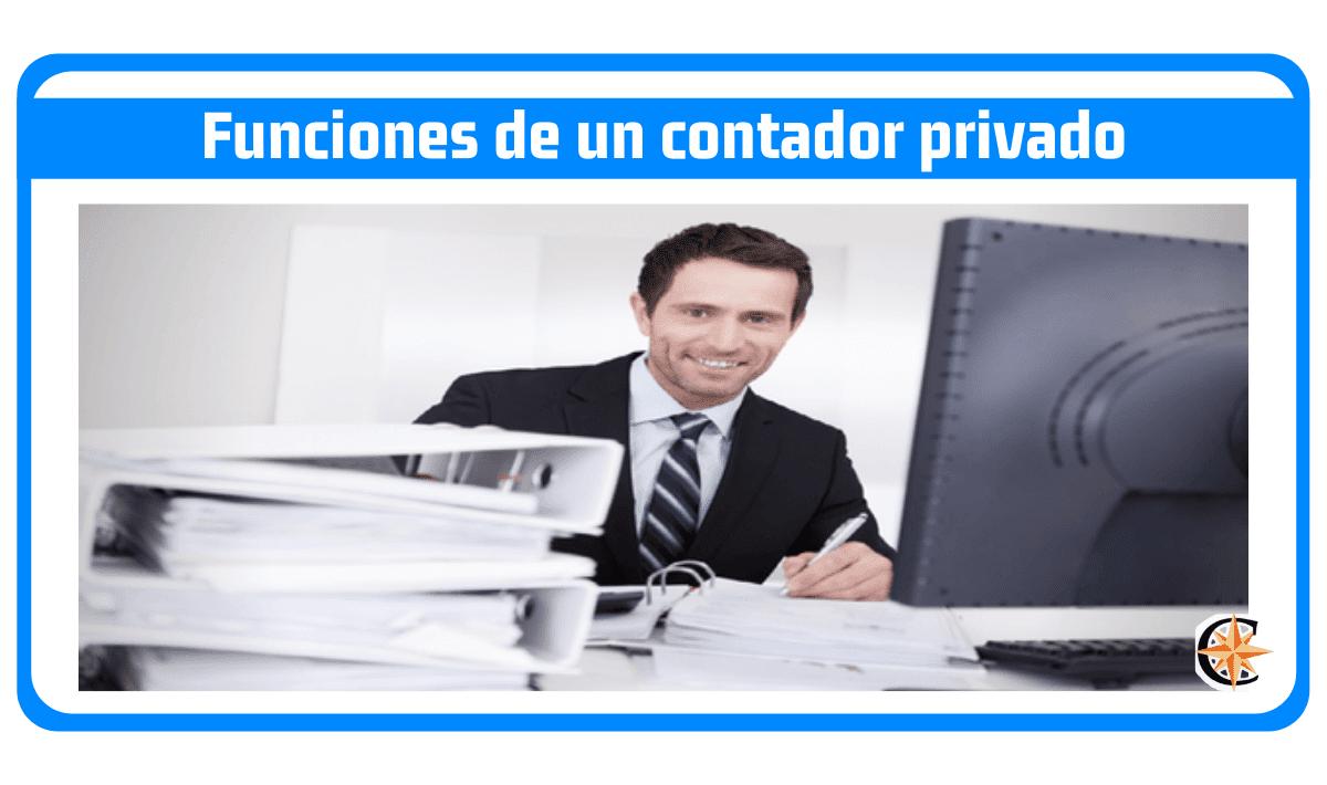 Funciones de un contador privado