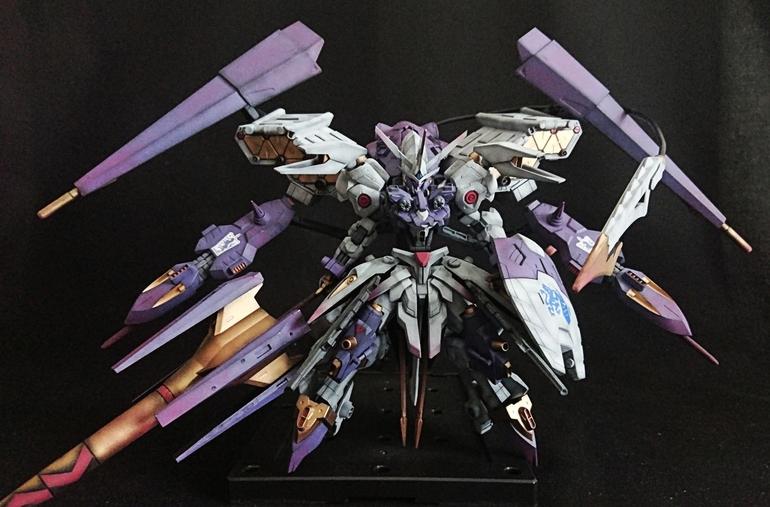 Custom Build: HG 1/144 Kimaris Noir - Gundam Kits Collection News and Reviews