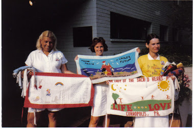 Ribbons from the Women's Center of Huntington, NY
