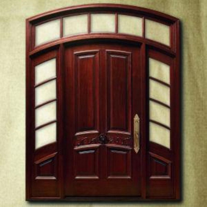 pintu kupu tarung lengkung 3