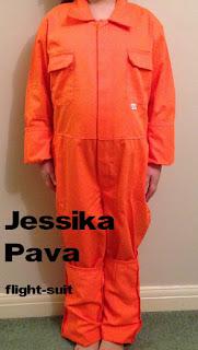 Jessika Pava, flight suit, x-wing