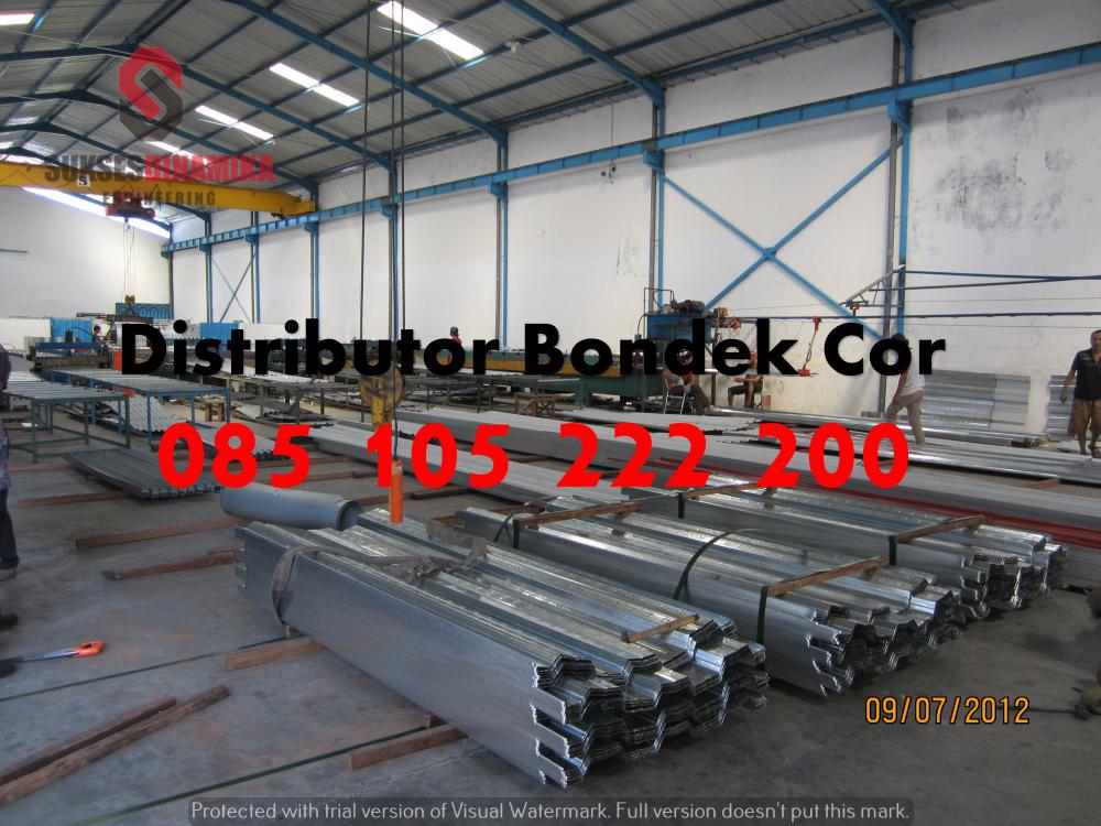 Harga Baja Ringan Kencana Di Semarang Union Floor Deck 081-330-690-081 | Pagar Brc Murah