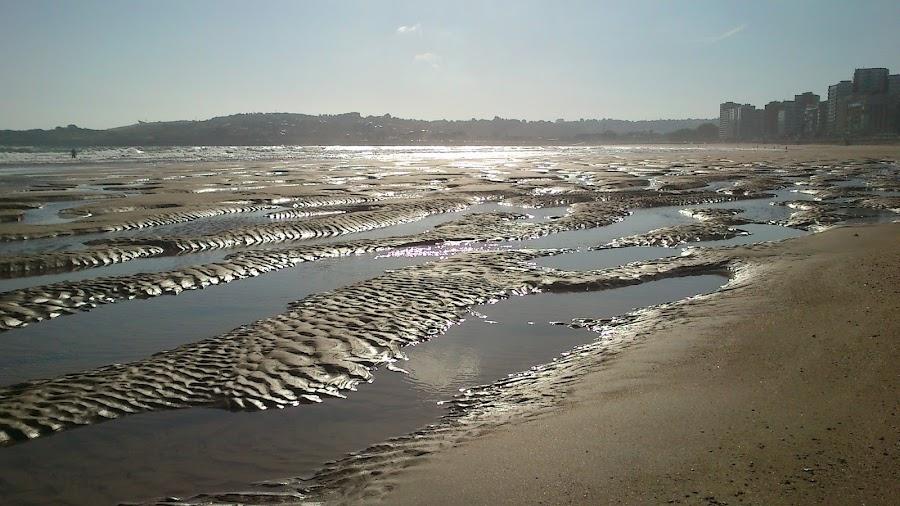 gión playa san lorenzo