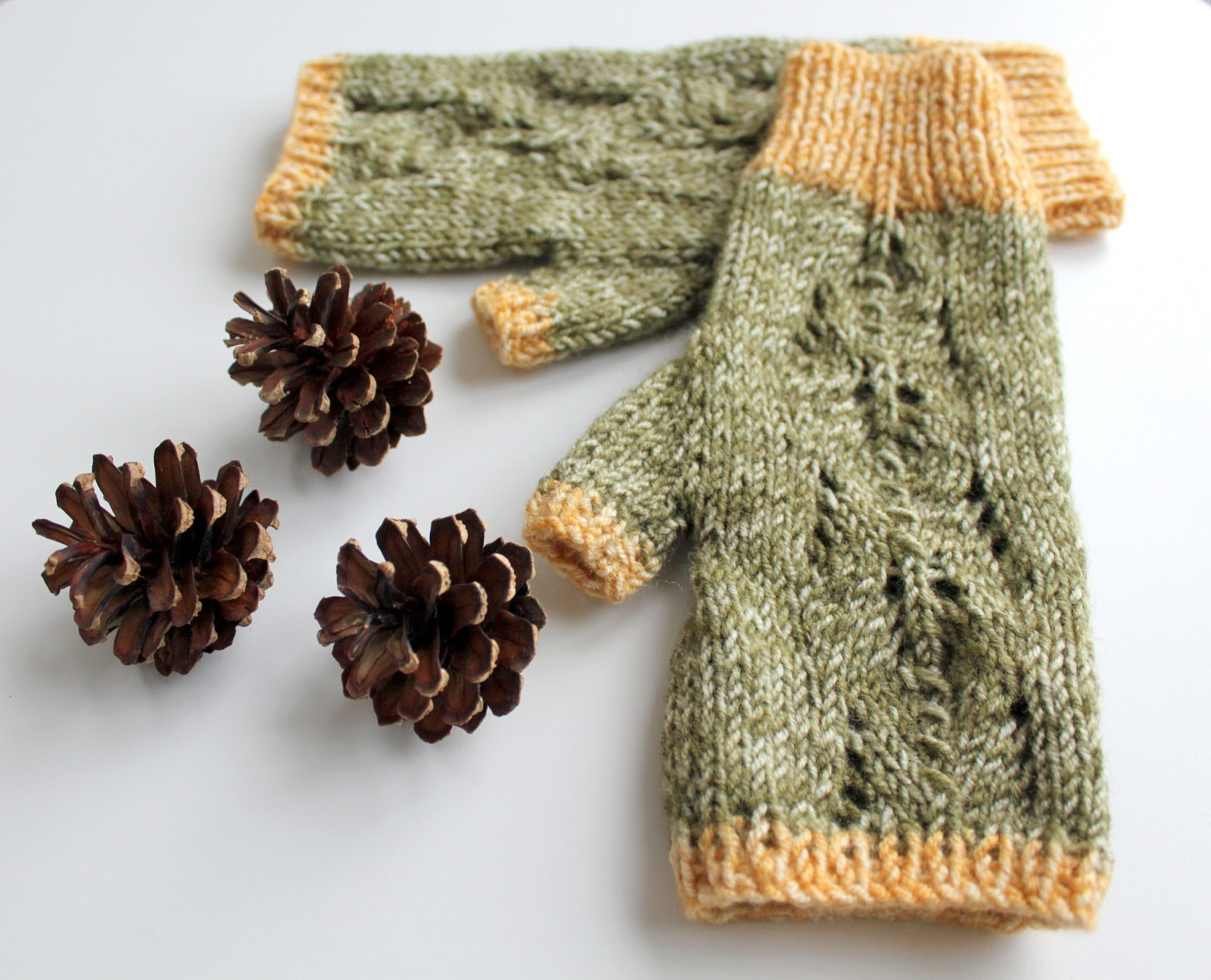 Knitting Increases For Thumb Gusset : Hand knitted things scots pine