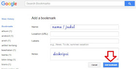 Mandaftarkan Blog pada Google Bookmark untuk Backlink High PR
