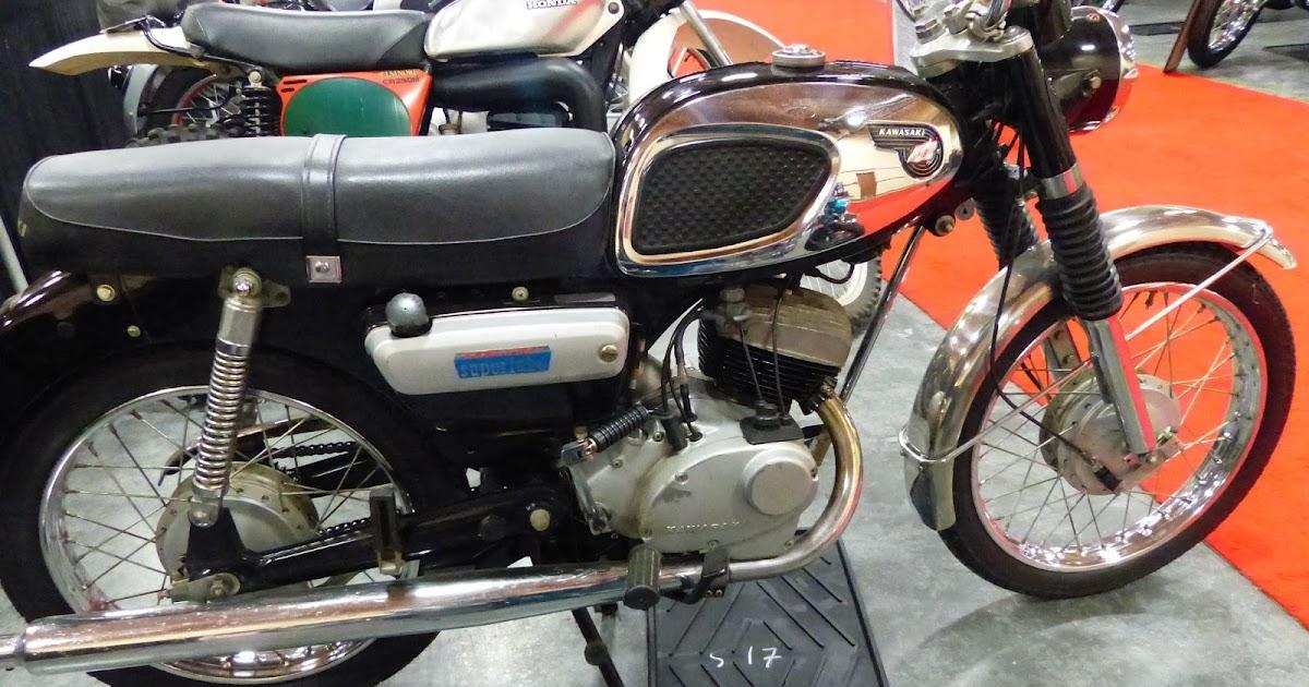 OldMotoDude: 1967 Kawasaki F2 175 sold for $1,750 at the
