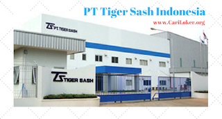 Loker PT Tiger Sash Indonesia Operator Maintenance Dies/ Mold