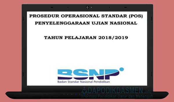 Download POS UN SMP SMA SMK Sederajat Tahun 2019, Unduh POS UN SMP SMA SMK Tahun Pelajaran 2018/2019