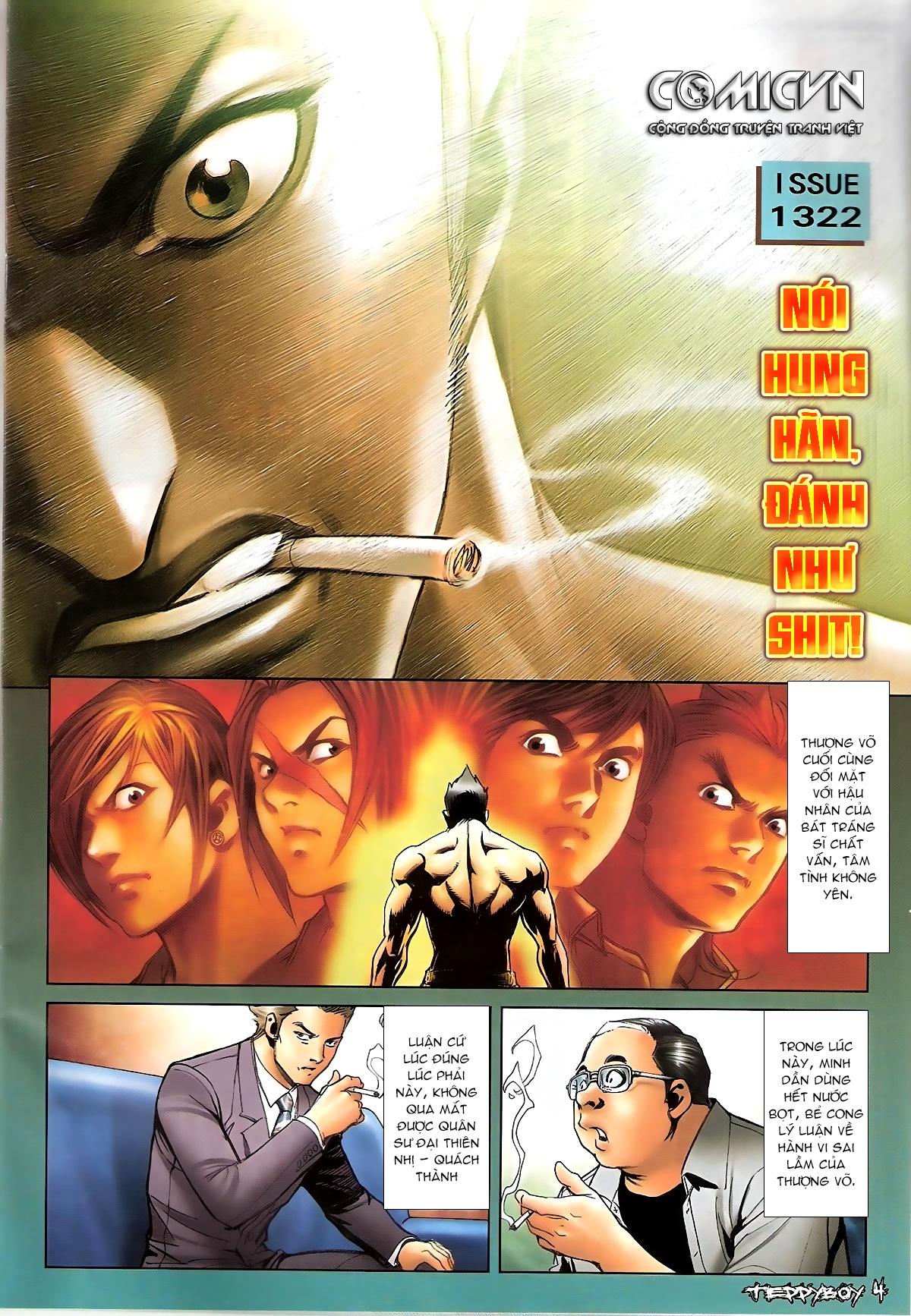 Người Trong Giang Hồ - Chapter 1322: Nói hung hăng - Pic 2