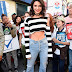 Kendall Jenner flaunts underboob and abs at the MTV Total Live Registration in NYC