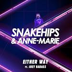 Snakehips - Either Way (feat. Joey Bada$$) - Single Cover