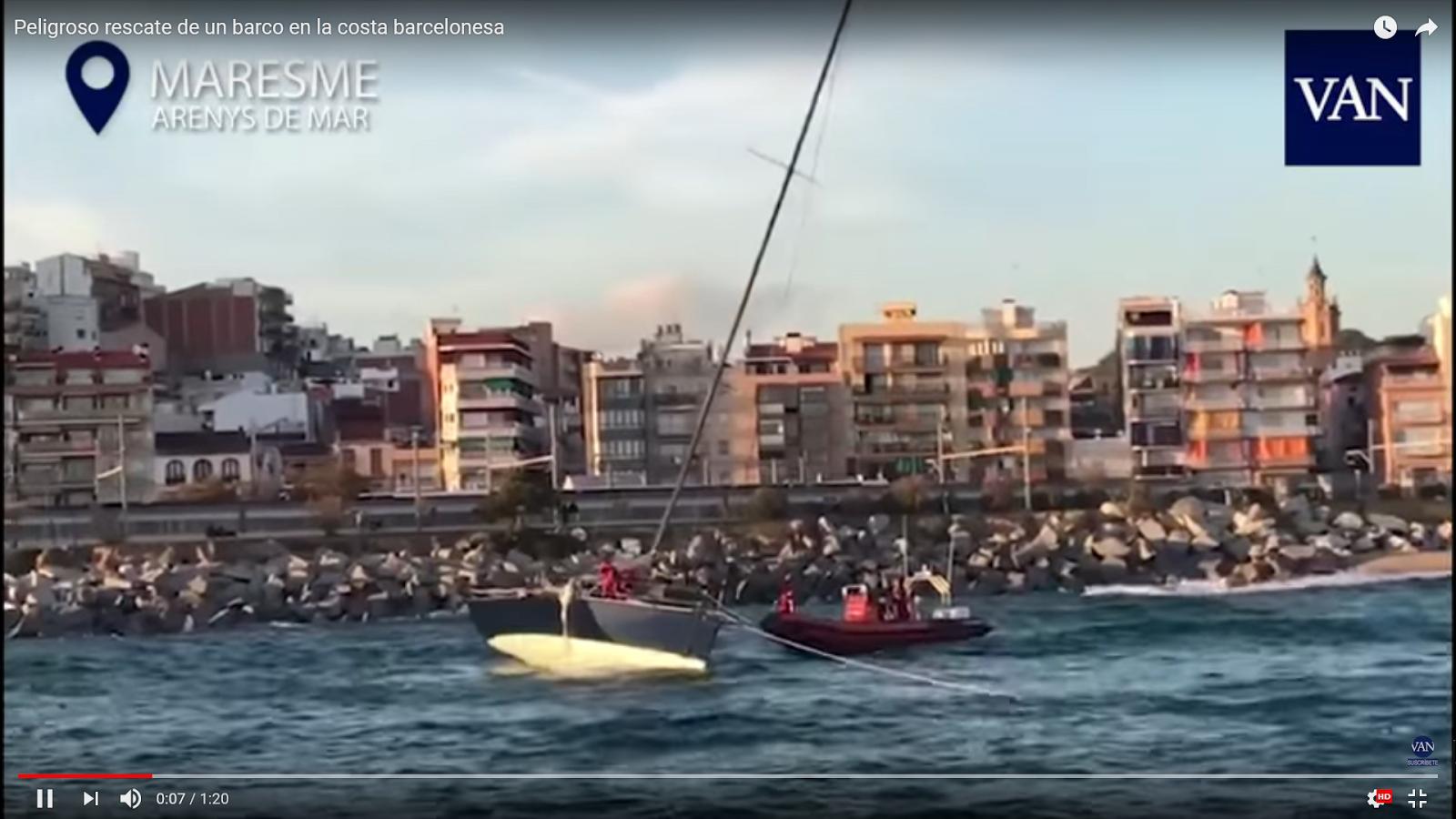 rescate del velero Duende 52 | sailing Regatas Activas- navegar en ...