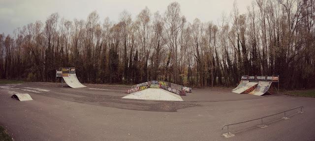skatepark etampes base de loisirs parc