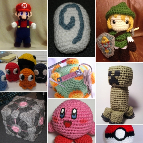 Crochet Video Game Amigurumi - Free Patterns