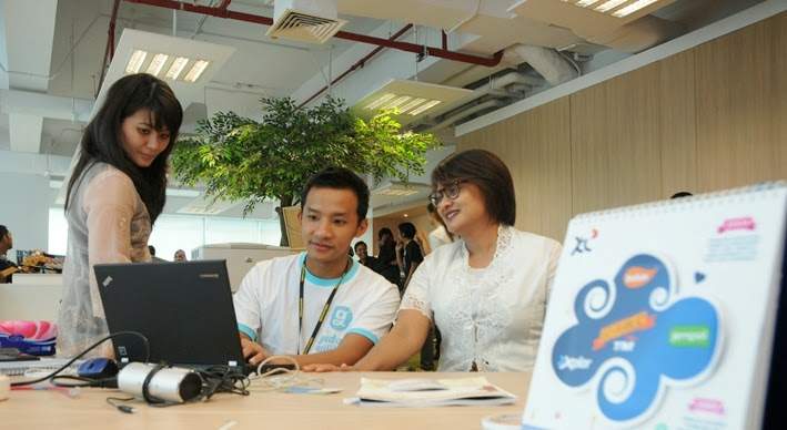 Bisnis Layanan Digital XL Dukung Industri Lokal