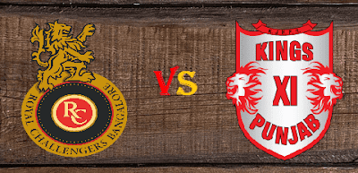 RCB vs KXIP Head to Head Match 43 IPL 2017