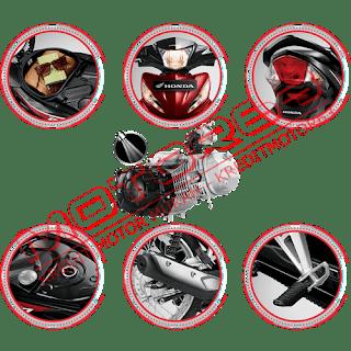 Fitur dan Spesifikasi Honda Revo FIT FI