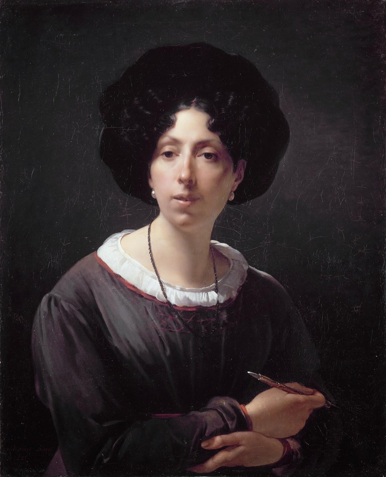 Autoportrait (1800), Hortense Haudebourt-Lescot