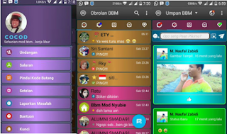 BBM MOD DISCO APK V3.2.3.11 [BBM Kelap Kelip]