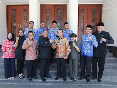 Kunjungan Pemkab Bangka ke Bandung