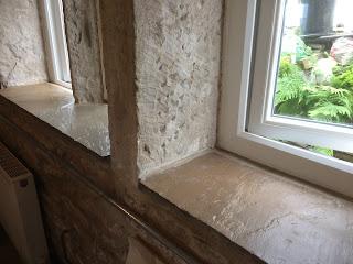Finishing windowsills