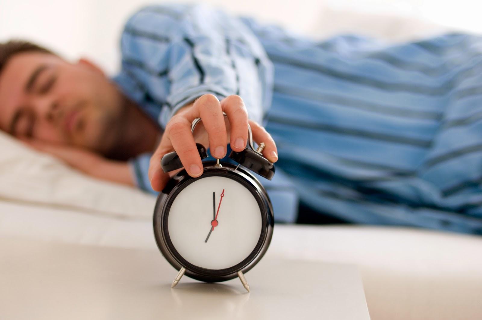 Bangun Yang Bergantung Pada Alarm