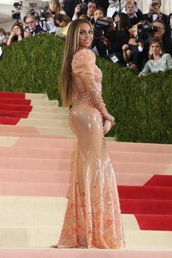 See What Beyonce Wore To Met Gala Last Night