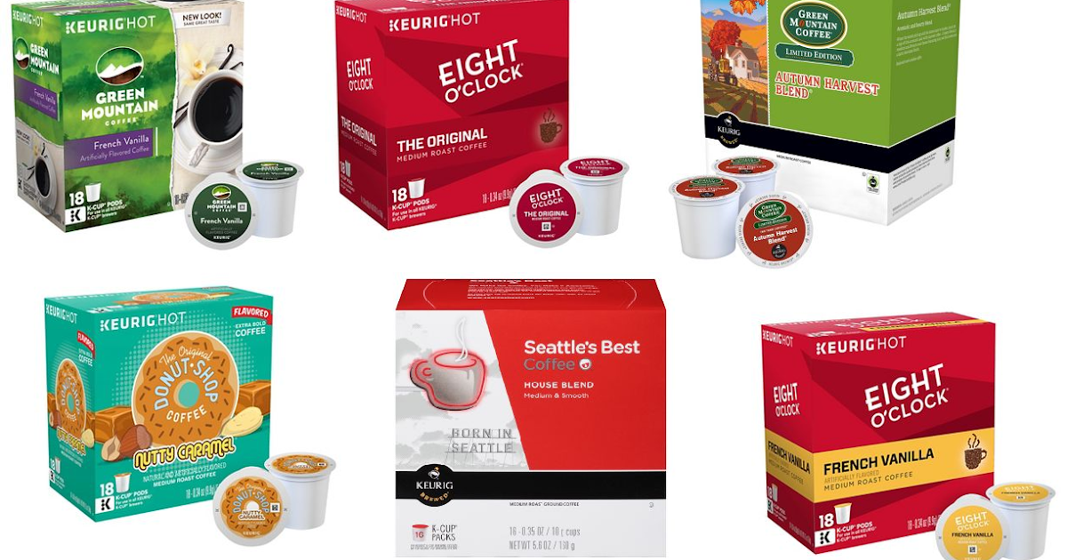 Coupons And Freebies: K-Cup Coffee Sale! 108ct Donut Shop ...