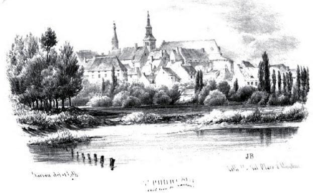 patrimoine de l'Allier château de saint Pourçain
