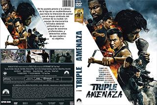 Triple Threat - Tripel Amenaza - Cover - DVD