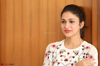 Lavanya Tripathi in Summer Style Spicy Short White Dress at her Interview  Exclusive 222.JPG