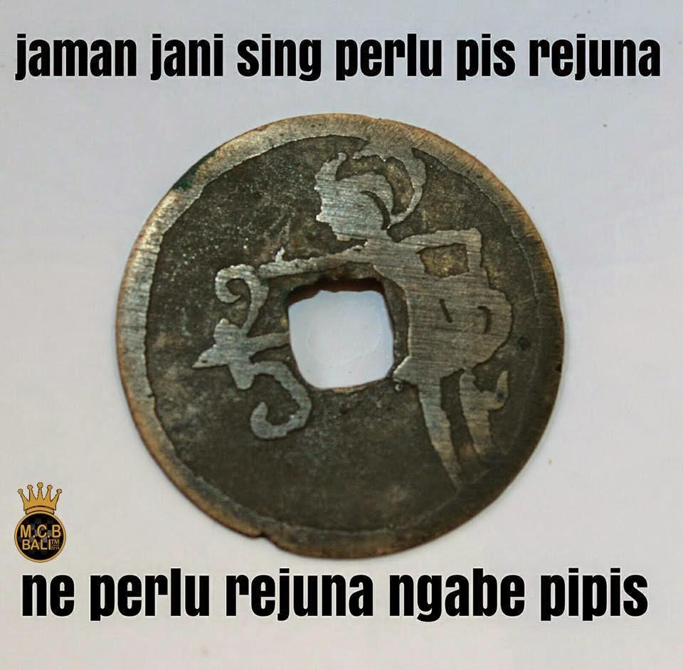 Kumpulan Meme Bahasa Bali Lucu