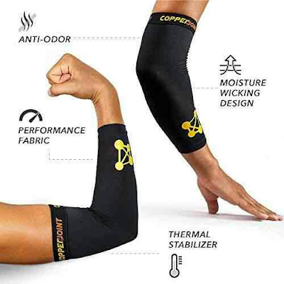 CopperJoint Sports Recovery Brace Elbow Sleeve