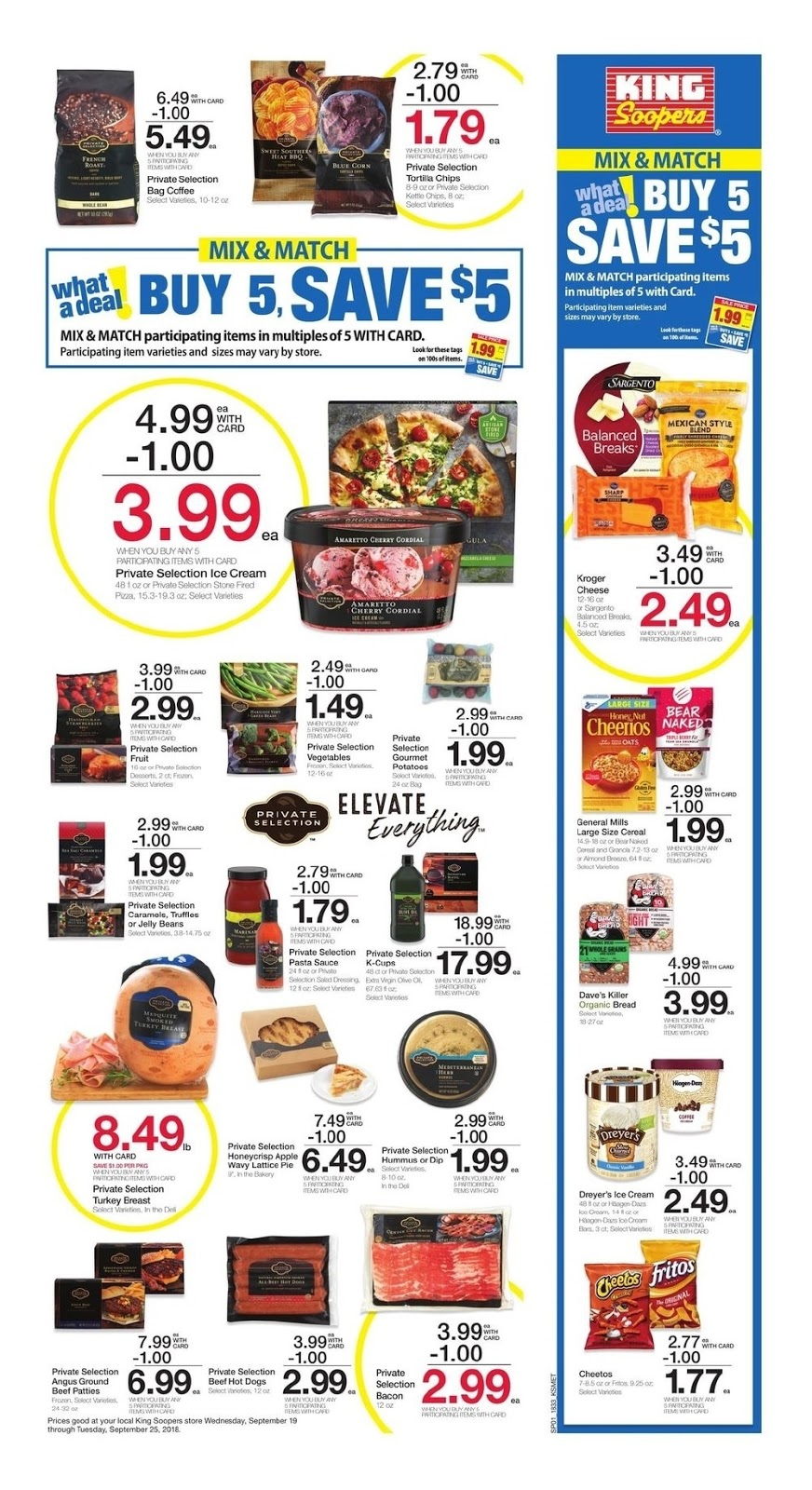 Browse the current King Soopers Weekly Ad September 19 - 25, 2018
