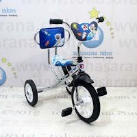 Sepeda Roda Tiga BMX Arava Alfrex Chrome Pernekel-CP Sandaran