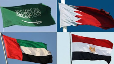 السعودية ومصر والإمارات والبحرين