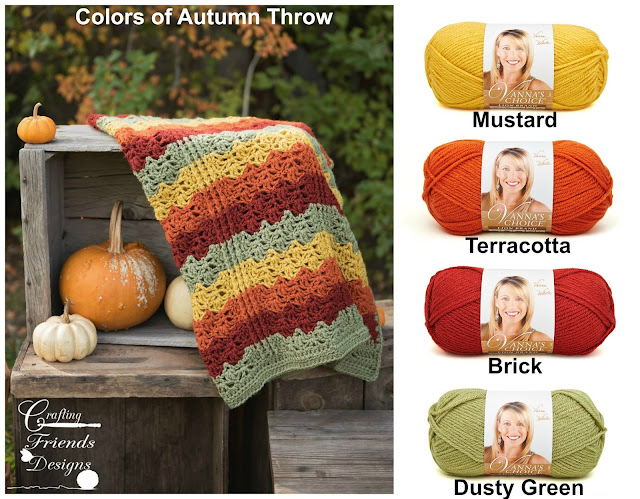 Colors of Autumn Throw