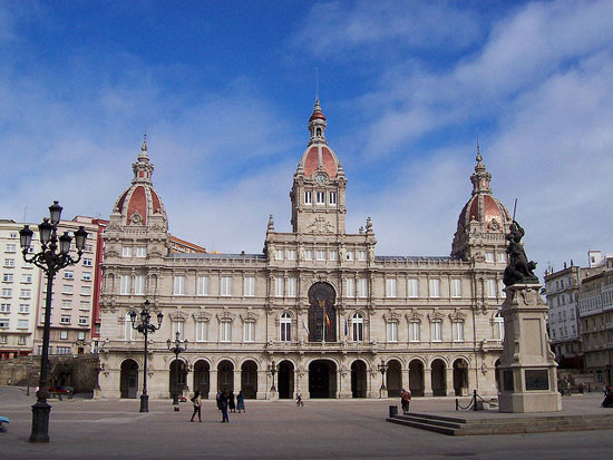 Piazza di María Pita A Coruña