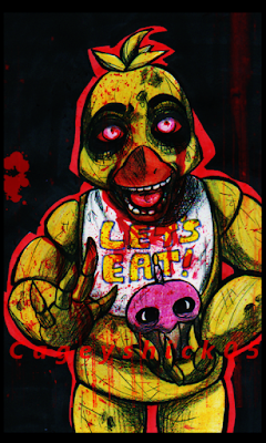 FNAF Five Nights at Freddy Whatsapp Wallpaper