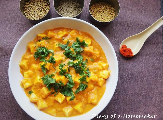 paneer-labadar-recipe-low-fat-tomatoes-cumin-coriander-milk-cilantro-fenugreek-