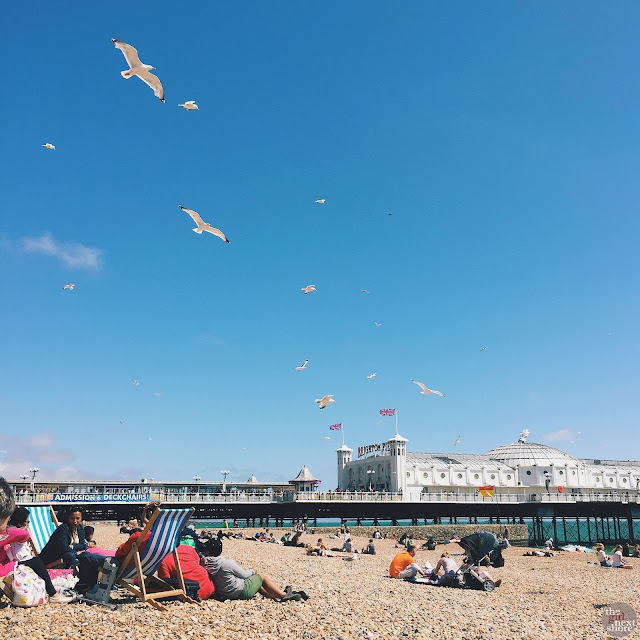 Brighton in a day (a photodiary)