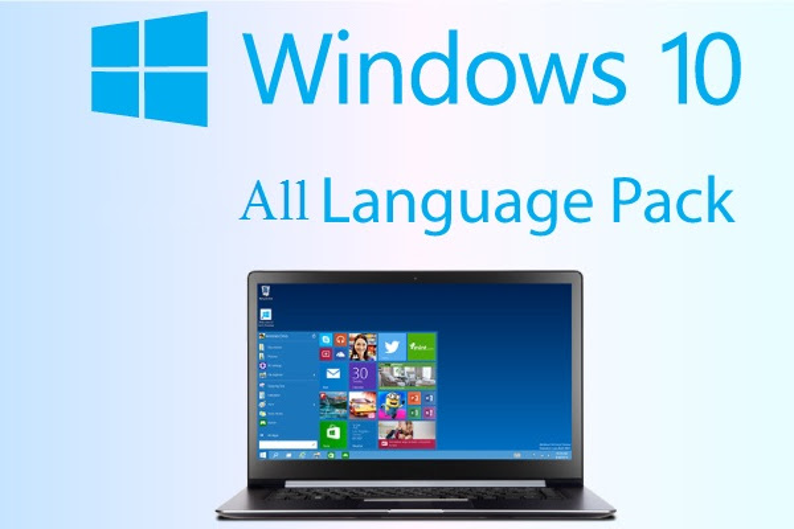 Language Packs for Windows 10 Threshold 2