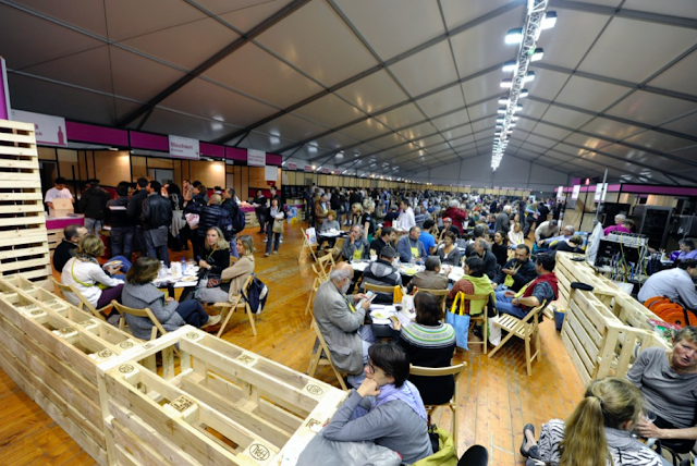 Terra Madre Salone del Gusto is one of the world's biggest international food fairs.