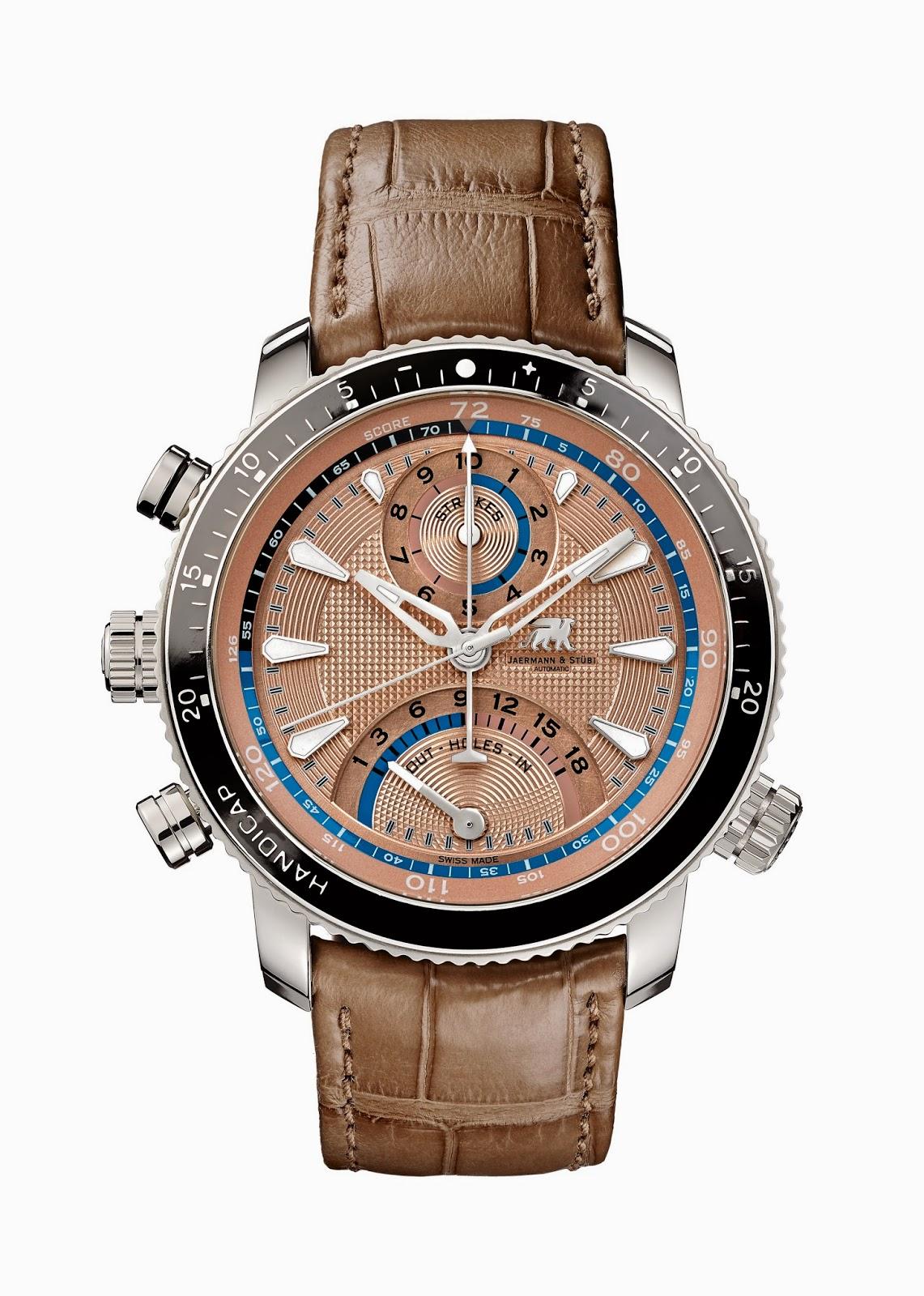 Jaermann & Stübi the The Timepiece Of Golf 4